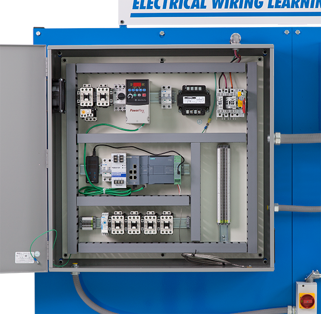 vfd wiring practices vfd image wiring diagram amatrol vfd plc wiring learning system 85 mt6ba x cal corp on vfd wiring practices