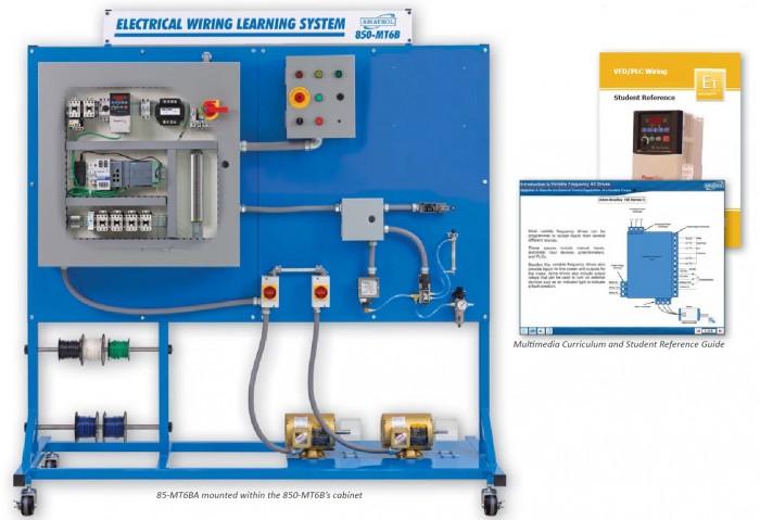 Amatrol Vfd Plc Wiring Learning System 85 Mt6ba X Cal Corp