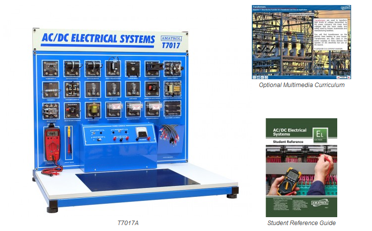 AC/DC Electrical Learning System (T7017A)