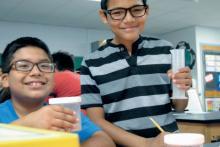 New active learning STEM program
