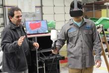 VR Paint Simulation